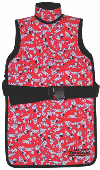 Pediatric Frontal Apron with BUCKLE Closure
