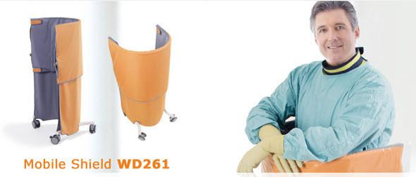 Body Contoured Mobile Radiation Shield