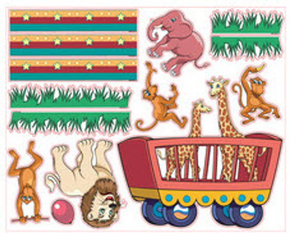 Circus Theme Decal Kit
