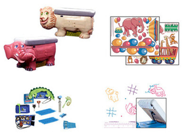 Circus Theme Pediatric Environment pack