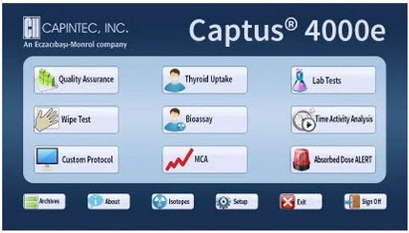 Captus® 4000e Thyroid Uptake System
