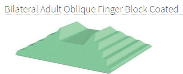 Bilateral Adult Oblique Finger Block Coated - YCAB