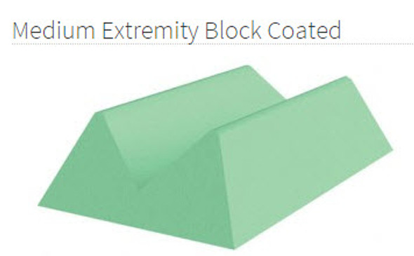 Medium Extremity Block Coated - YCCB