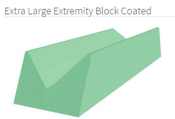 Extra Large Extremity Block Coated  - YCCD