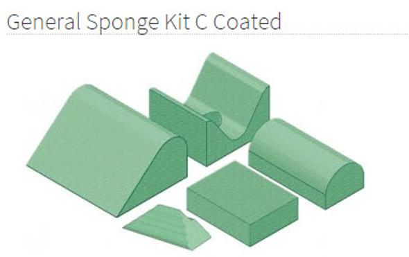 General Sponge Kit C Coated - YSGC