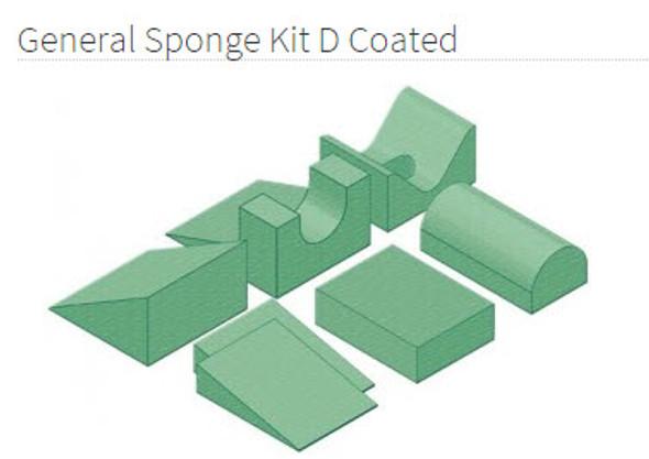 General Sponge Kit D Coated - YSGD