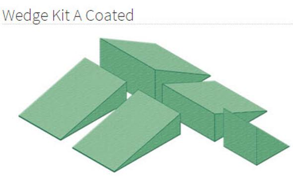 Wedge Kit A Coated - YSWA