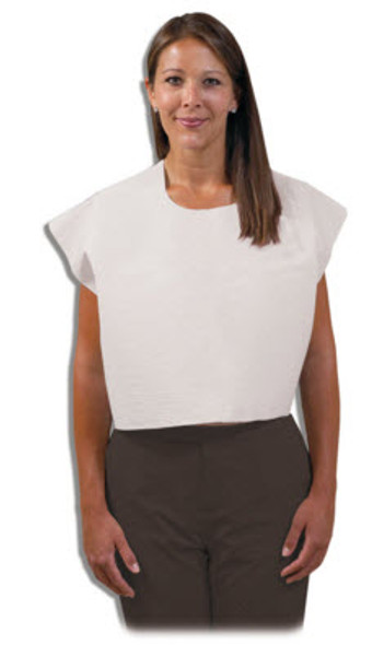 Mammo Exam Cape, White