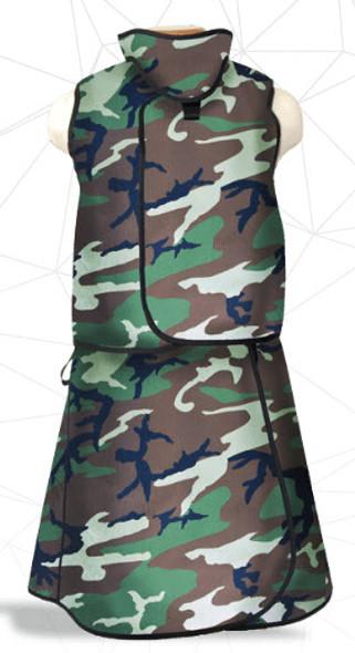Partial Overlap Unisex Vest & Skirt