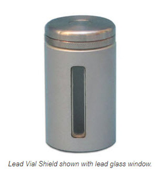 NEW! Lead Vial Shield with Magnetic Cap