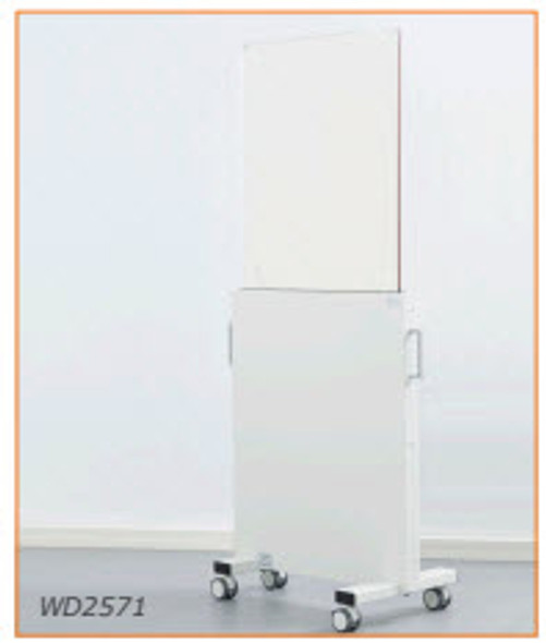 Height-Adjustable, Mobile X-Ray Protective Shield