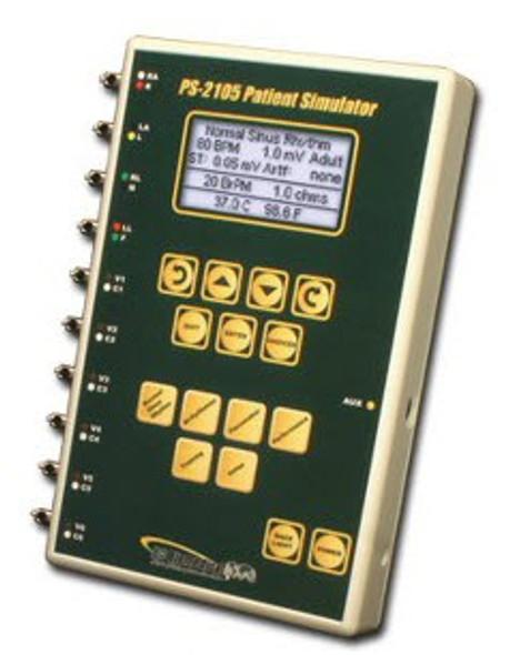 Patient Simulator - 10 Lead ECG - w/Arrhythmias