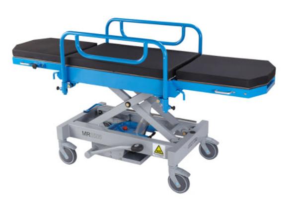 MRI Adjustable Height CUBE Stretcher - Narrow
