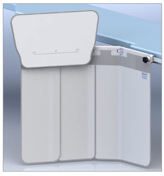 Lower body x-ray shield 312/E-011