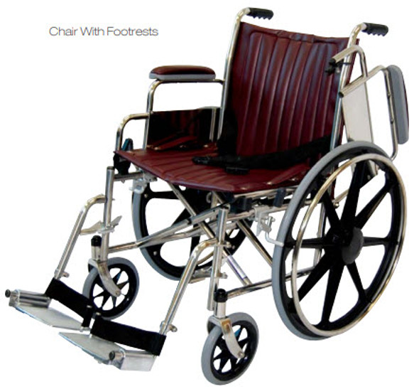 "18"" Wide MRI Wheelchair with Flip Up Arms"