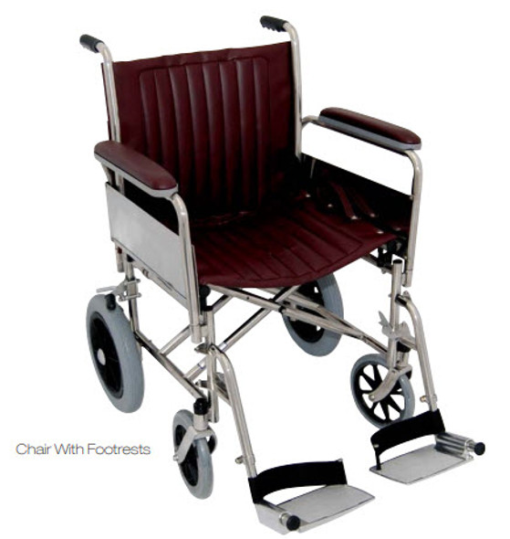 "20"" Wide MRI Transport Wheelchair"