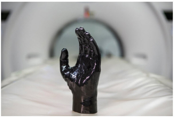 Hand Phantom for  CT, X-RAY AND Radiation Therapy