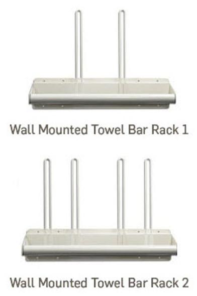 Wall Mounted Towel Bar Rack
