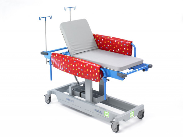 MRI Fixed Height Pediatric Stretcher