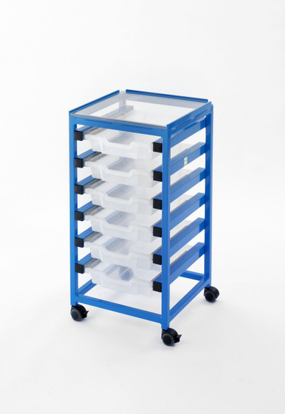 MRI Utility Cart with Six Drawers