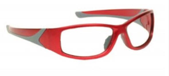 Wraparound Radiation Glasses Model 808