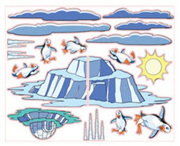 Arctic Theme Decal Kit