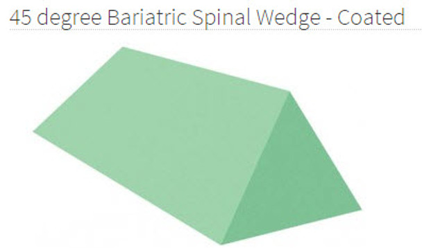 Bariatric Spinal Wedge Coated - YCBA