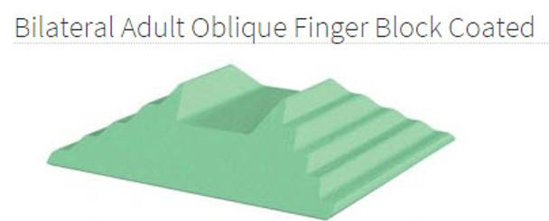 Bilateral Adult Oblique Finger Block Coated - YCAB