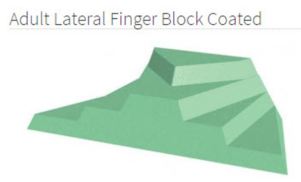 Adult Lateral Finger Block Coated -YCAD
