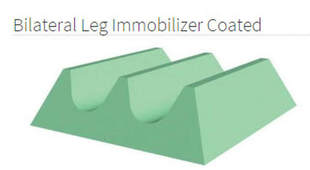 Bilateral leg Immobilizer Coated - YCAG