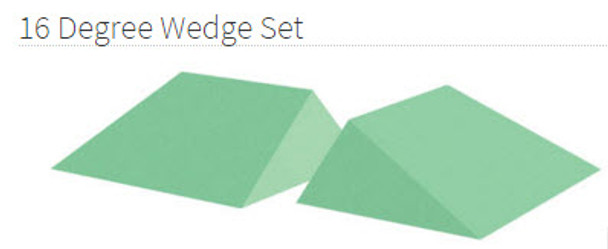 16 Degree Wedge Set Coated - YCBH