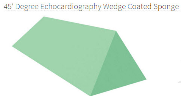 45 Degree Echocardiography Wedge, Coated - YCEE