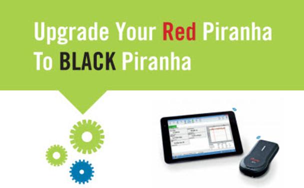 UPGRADE Red Piranha to Black Piranha