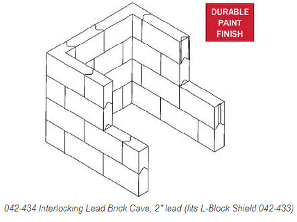 Interlocking Lead Brick Caves