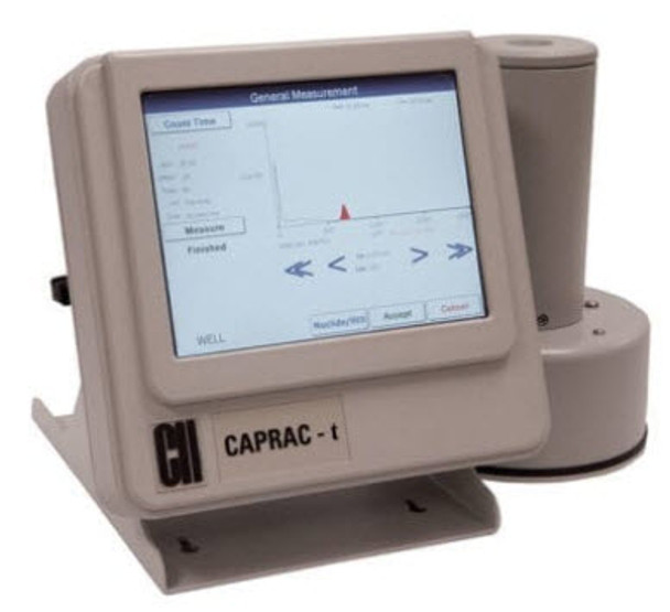 CAPRAC ® -t Wipe Test / Well Counter
