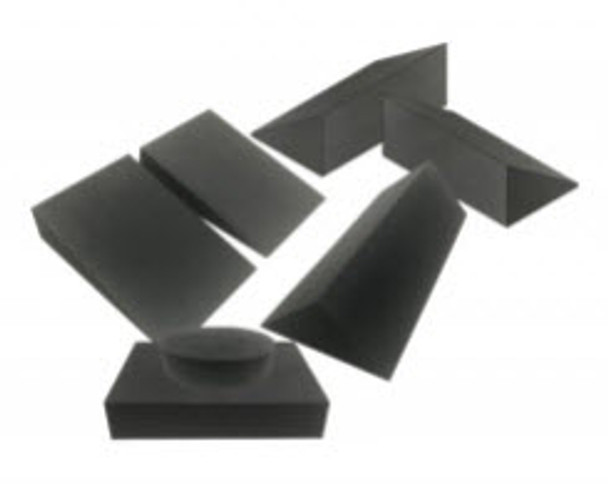 Closed Cell Clinic Sponge Bundle A - Charcoal Grey