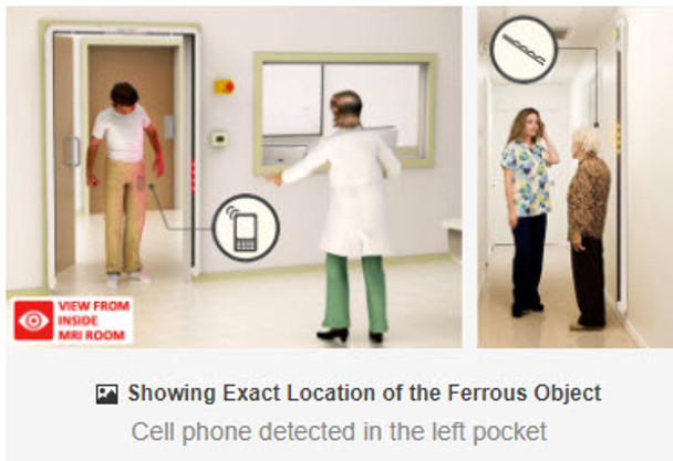 FERRALERT HALO II Plus - The Latest Advancement in Ferromagnetic Detection for MRI Safety
