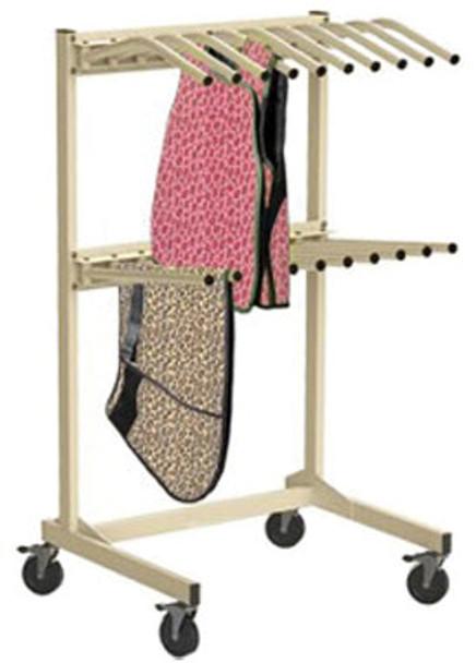 Vest & Skirt Mobile Rack
