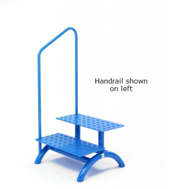 MRI Double Step Stool with Handrail on Left or Right Side
