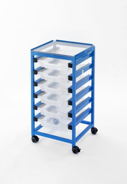 MRI Utility Cart with Six Drawers