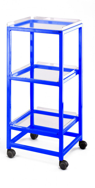 MRI Utility Cart with Three Shelves