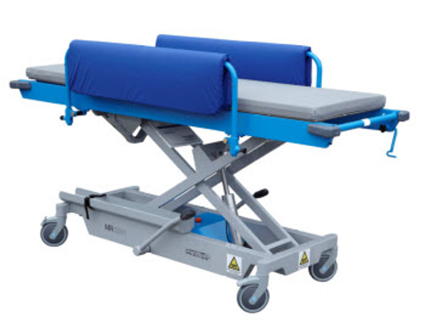 Combination MRI Adjustable Height Stretcher