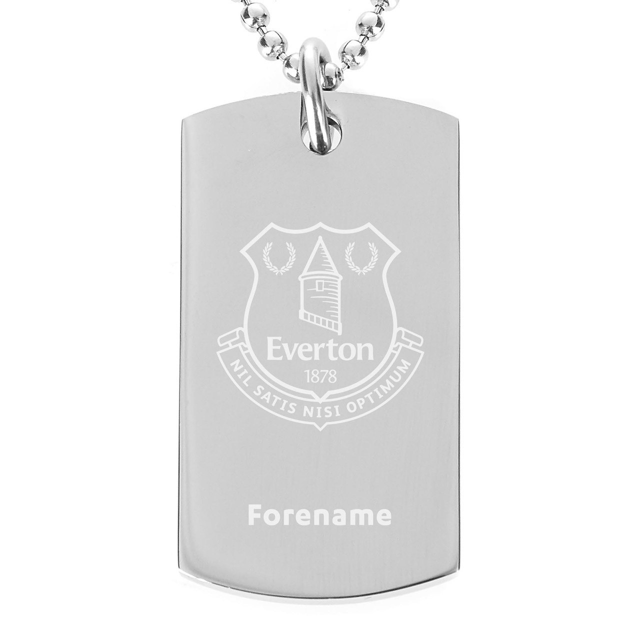 Personalised Bookmark Everton F.C CREST