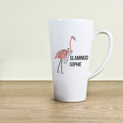 Even after a night out, make up worn to sleep, hair tousled in every direction, there's no better way to make her feel special in the mornings, especially since she's at her grumpiest. Put a small smile on her face with this large latte mug.