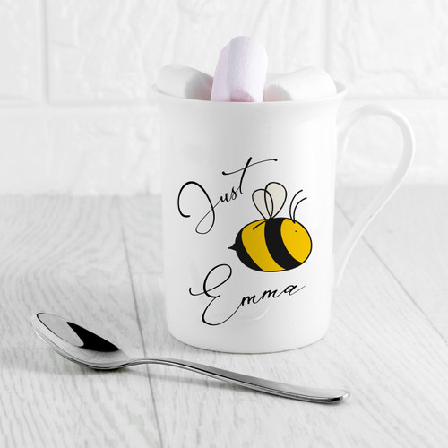 Even after a night out, make up worn to sleep, hair tousled in every direction, there's no better way to make her feel special in the mornings, especially since she's at her grumpiest. Put a small smile on her face with this delicate bone china mug she can use to sip her tea from.