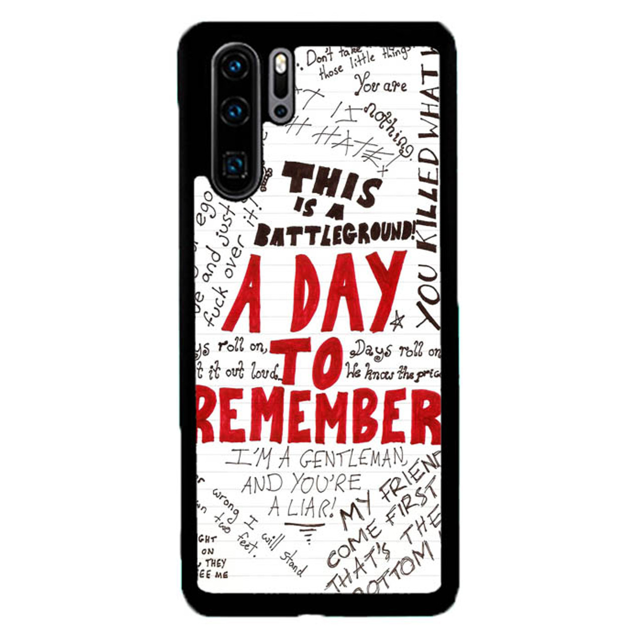 A Day To Remember Wallpaper Y0237 Huawei P30 Pro Case