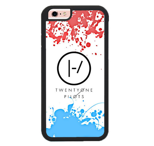 21 Twenty One Pilots Red Blue Z4417 iPhone 6 iPhone 6s Case