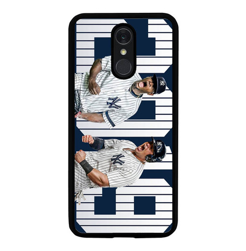 2019 New York Yankees L3073 LG Q7, Q7 Plus Case