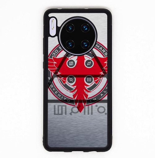 30 seconds to mars logo Z1690 Huawei Mate 30 Pro Case