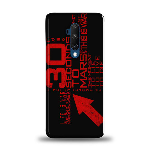 30 seconds to mars logo typography Z1691 Oneplus 7T Pro Case